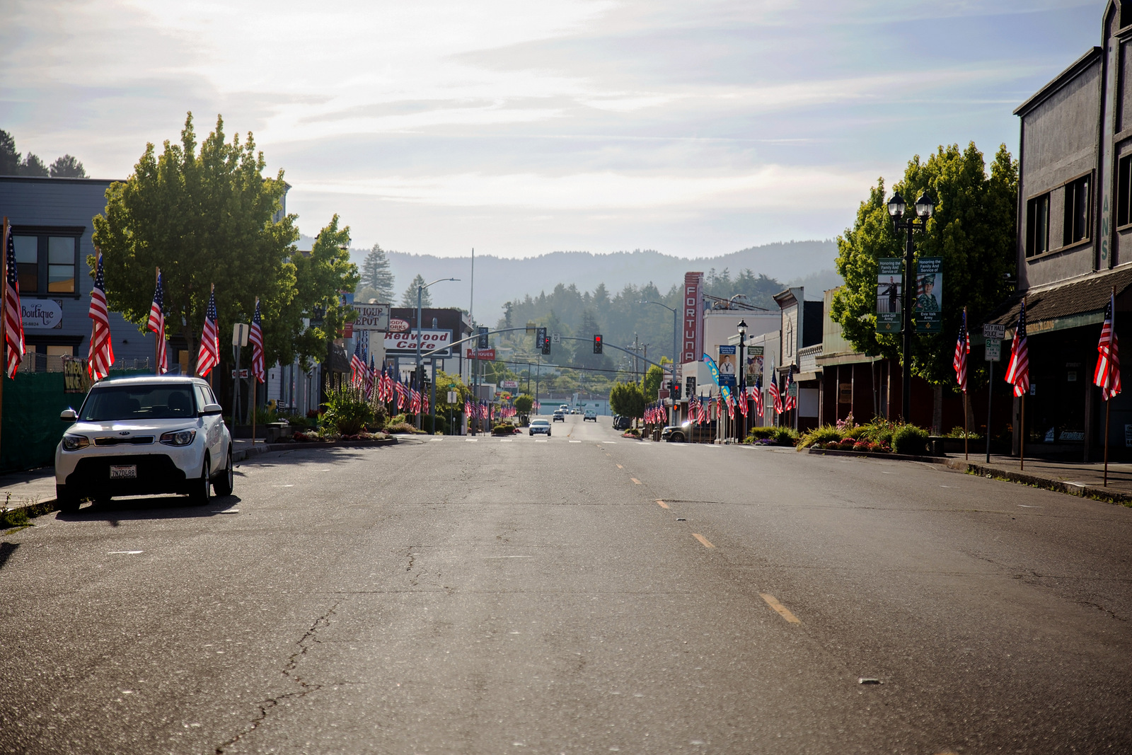 background image of main st